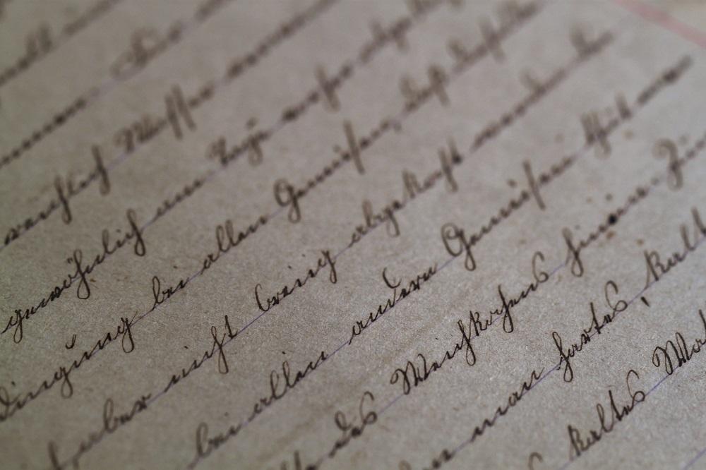 Handschrift SV-Blog