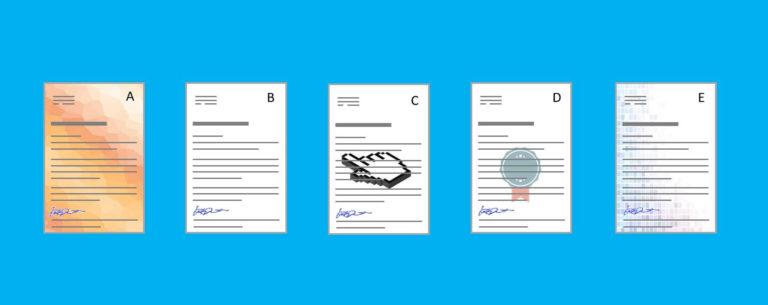 """Wie ändert sich der Mailing-Dialog durch Briefpapier mit """"ab gesofteten"""" Hintergrund-Bildern?"""