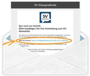 E-Mail Bestätigung Newsletter Anmeldung