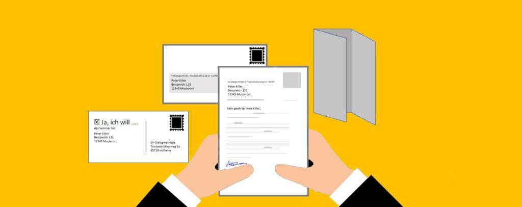 SV-Dialogmethode svBlog Personalisierung Werbemittel