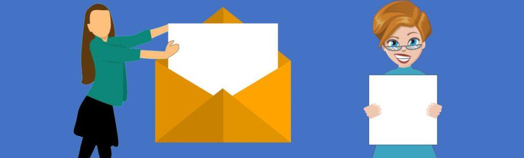 SV-Dialogmethode svBlog Brief Empfänger zum Brief Leser