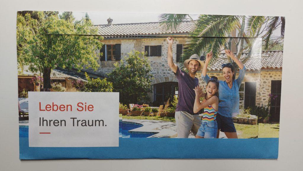 SV-Dialogmethode Vorder- Rückseite mit Panorama Fenster